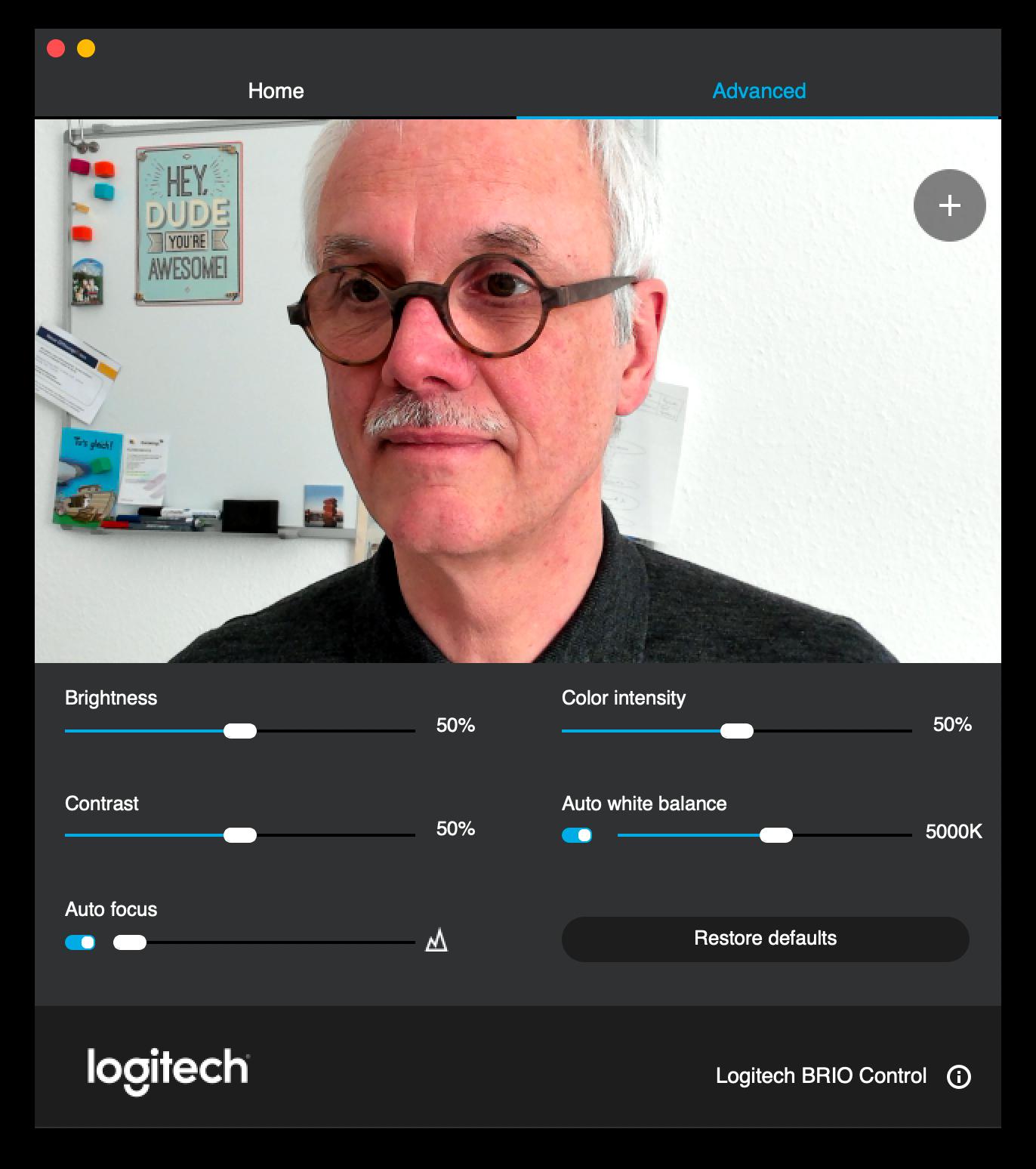 Camera Settings App