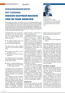 Objektspektrum-Artikel über Risikomanagement