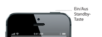 iPhone5 Standby-Taste