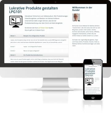 Online Kurs auf Device